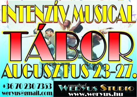MUSICAL TÁBOR AUGUSZTUS  23-27.