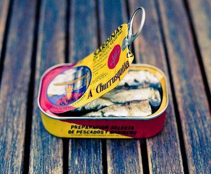 Olajos halak, konzervek