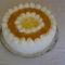 Barackos tejszínes torta