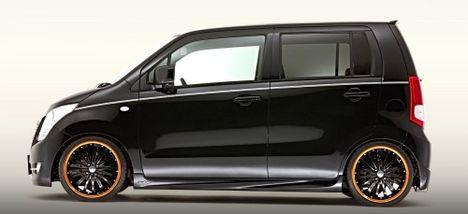 Suzuki Wagon R Tuning oldalról