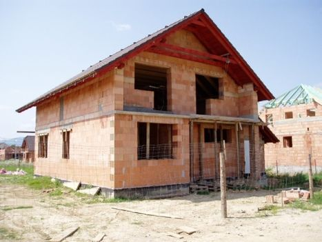tégla ház építése
