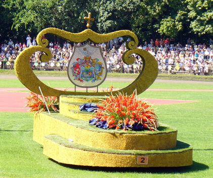 Nyitókocsi Debrecen címerével-