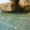 Skala sziklái és tiszta vize