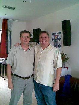David Wagner és Sagát István