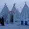 észak szibériai sátor
