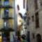 Szűk utca, szép épületekkel