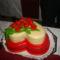 első emeletes tortám