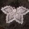 horgolt pillangó