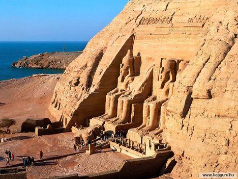 Egyiptom Abu Simbel-Aswan közelében