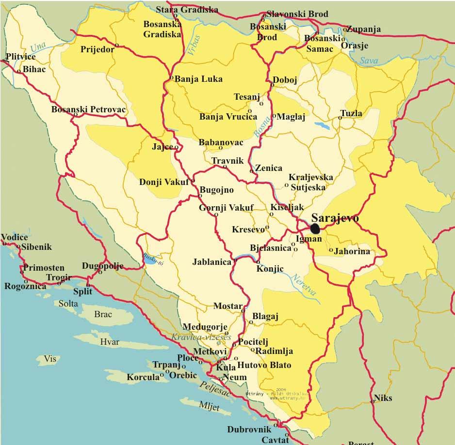 Mostar Terkep Marlpoint
