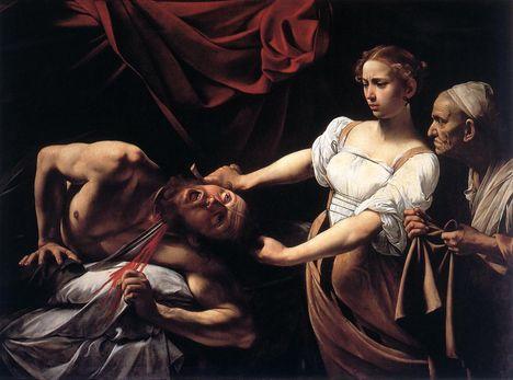 Judit lefejezi Holofernészt - Galleria Nazionale d'Arte Antica