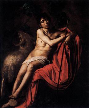 Keresztelő Szent János- - Galleria Borghese