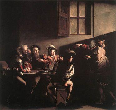 Szent Máté elhivatása - San Luigi dei Francesi