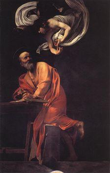 Szent Máté és az angyal - San Luigi dei Francesi