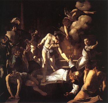 Szent Máté mártíromsága - San Luigi dei Francesi