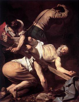 Szent Péter keresztrefeszítése - Santa Maria del Popolo