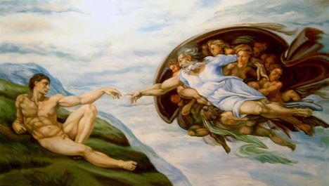 Ádám Teremtése repro