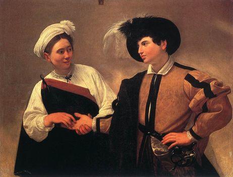 A jövendőmondó- Pinacoteca Capitolina