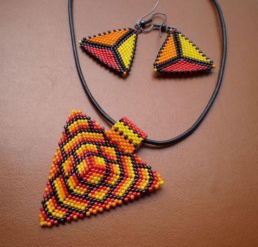 peyote háromszögek