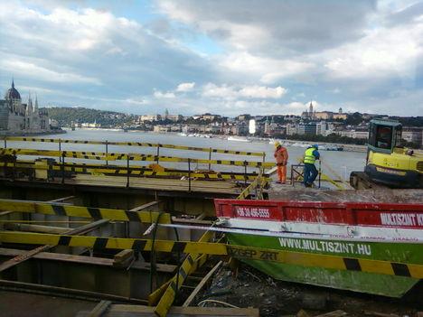 Margit híd felújítása