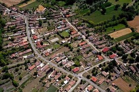 Bezi község térkép