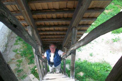 Rich , aki Bostonból jött a Nyárádszentlászlói toronyba