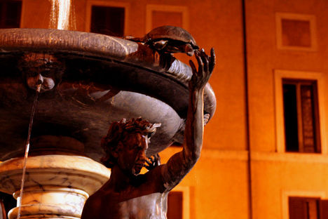 Fontana delle Tartarughe, Piazza Mattei 2