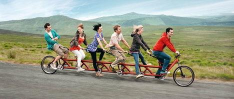 Tandem kerékpározás