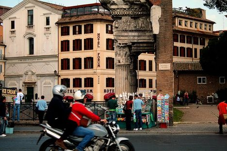 Afternoon of the via dei Fori Imperiali