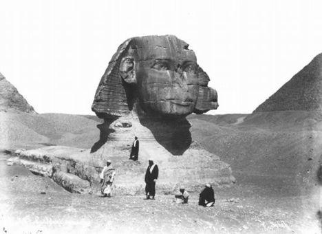 Egyiptom még feketén-fehéren