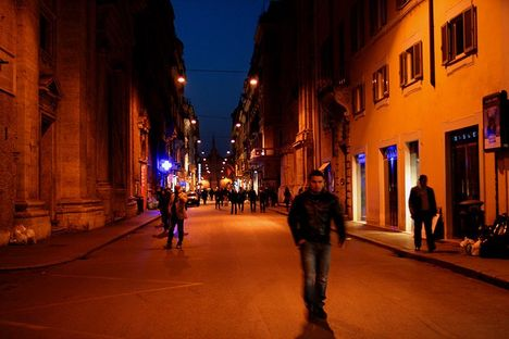 Quiet on the Via del Corso