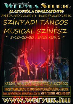 Komplex Musical Táncos / Színész Képzés - Weryus Musical Studio