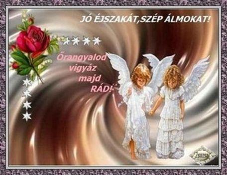 Jó éjszakát,szép álmokat!