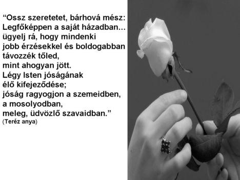 Ossz szeretetet...