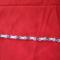 76. Fehér gyöngy karkötő ezüstözött strasszos köztesekkel