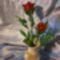 rózsa bimbóval