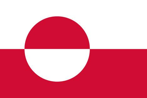 800px-Flag_of_Greenland / Grönland