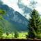 hegyek Leutasch-nál