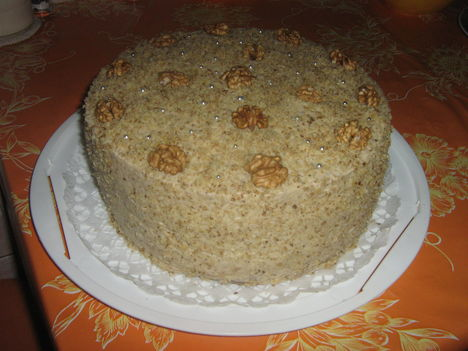 hagyományos dios torta