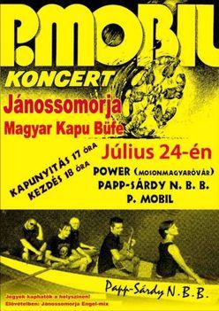 Jánossomorja koncert plakát