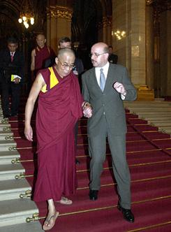 dalai láma Kerekes Gáborral
