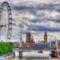 London Eye HDR kép 02