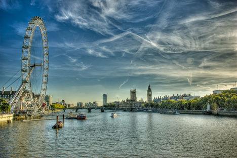 London Eye HDR kép 05