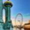 London Eye HDR kép 06
