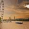 London Eye HDR kép 07