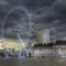 London Eye HDR kép 12