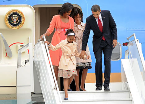 Barack Obama Family..