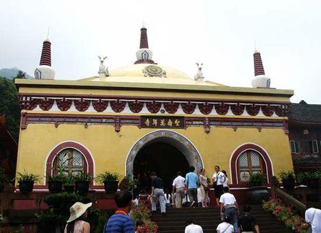 Emei Shan Templom.