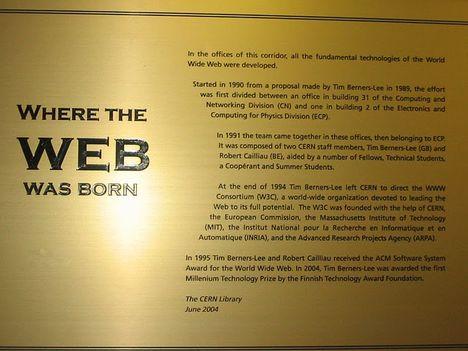 web születési tábla