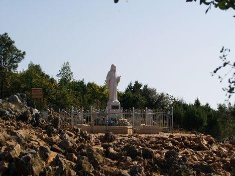 Medjugorje , Jelenések hegye